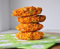 Sweet Potato Veggie Burgers #vegan
