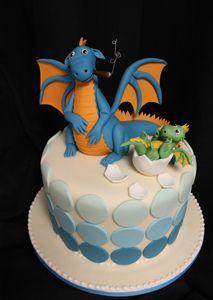 Dragon Cigar baby by Amanda Oakleaf Cakes, via Flickr