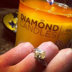 Diamond Candles reveal a hidden ring in *every* soy candle valued 10-5,000 dollars! Would you LOVE to have these in your home? Aren't they a great gift idea?