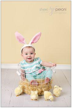 Super cute Easter photo