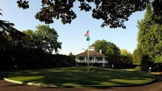 A peaceful Sunday at Augusta before the Masters mayhem begins.