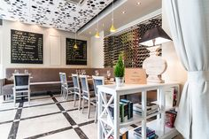 A Brasserie That Mixes Classic Design With Modern Items, Romania
