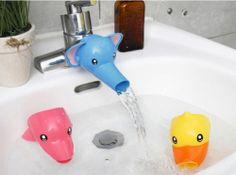 Kids faucet extender for himself handwashing Help toddlers baby Child bathroom kid bathroom, child bathroom, toddler bathroom ideas