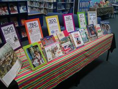 New Year Book Display...with historical events