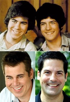 Patrick and Matthew Labyorteaux (Andy Garvey and Albert Quinn Ingalls)