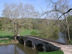Burnside Bridge at Antietam National Battlefield; on this day (September 17) 150 years ago, over 20,000 people gave their lives in the bloodiest battle of the American Civil War.