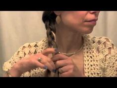 How To Do A WRAP-AROUND FRENCH BRAID ACROSS THE BACK OF YOUR HEAD AND DOWN