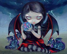 Dark Dragon Fairy