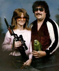 What a nice looking couple.