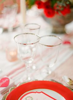 Photography: KT Merry Photography - ktmerry.com  Read More: http://www.stylemepretty.com/2014/02/17/romantic-red-wedding-inspiration/