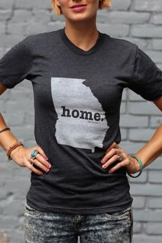 Georgia Home T Shirt | The Home. T | Bourbon & Boots