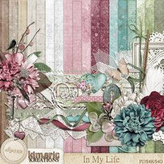 Digital Scrapbook Kit, In My Life by Kimeric Kreations