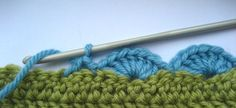 the perfect finish to any crochet project - a scalloped trim :)