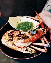 Grilled Quick-Brined Jumbo Shrimp Recipe