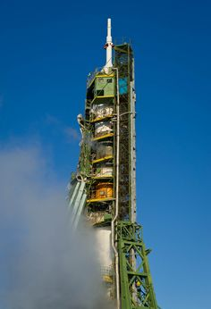 /by nasa #flickr #kazakhstan #soyuz #rocket