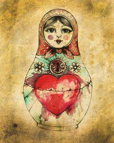 Russian Doll by ~bjesomarka on deviantART
