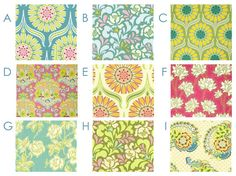 Garden Pop Fabrics