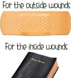 Jesus heals the wounded. The Bible tells us so. Psalms 147:3 NKJV  He heals the brokenhearted And binds up their wounds.