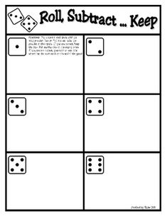 A great game to practice basic subtraction facts. This math game can be used for math station/centers, partner games, or small group practice. This...