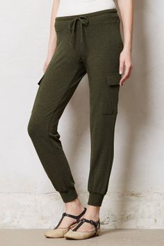 Jersey Cargo Loungers - anthropologie.com