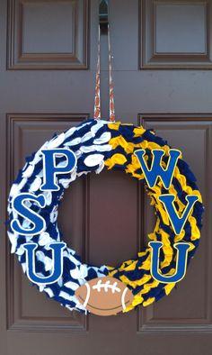 Football Team Wreath