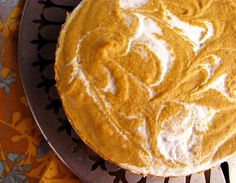 Pumpkin Cheesecake or Pie.  Free of Gluten/Dairy/Soy/Corn/Eggs/Nuts/Sugar and Grains