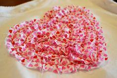 My Rufflicious Valentine!   Ruffled Heart Top!