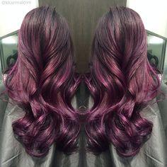 Love it! Purple hair