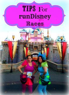 Tips for runDisney races