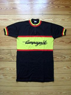 Old Campagnolo wool cycling jersey