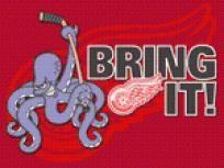 Detroit Red Wings - Cross Stitch Pattern pdf