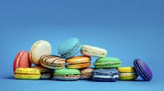 Delightfully light macarons, available at Bar Cocoa's specialty Bar Macaron
