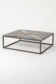 union jack coffee table-can make this for a few dollars!