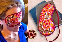 Scrapbuster - Travel Accessories: Satin Lined Sleep Mask