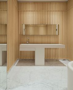 Carine Roitfeld's Bathroom by David Chipperfield