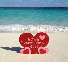 The sun is up, the sky is blue, the sand is white – we're only missing you! Happy Valentine's Day. Love, #TheCoveAtlantis