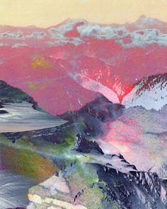volcano, mountain, color, diet foods, art prints, inspir, the artist, abstract landscape, landscape designs