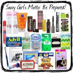 girl friends survival kit packaging pinterest. Black Bedroom Furniture Sets. Home Design Ideas