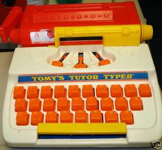 Tomy's Tutor Typer...almost forgot about this!!
