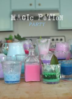 awesome playdate or birthday party event ~ they will never forget the potion party!