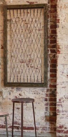 Old Bed Springs ~ Great for a garden trellis, bulletin board, wall art, gate...