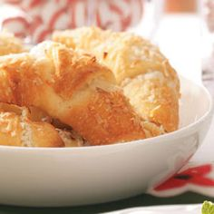 Coconut Crescent Rolls from Taste of Home -- shared by Mildred Bickley of Bristol, Virginia