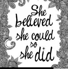 Believe little girls, remember this, go girls, strong women, thought, inspir, girl power, quot, girl rooms
