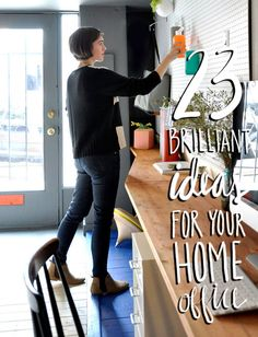 23 Brilliant Ideas for Your Home Office | DesignSponge.com