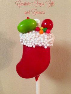 Cute Christmas Cake Pops