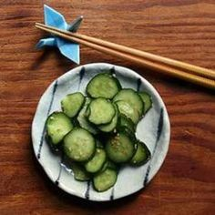 Easy Japanese Pickled Cucumbers make an excellent sandwich condiment, a delicious garnish for steamed fish or a crisp and tangy anytime treat. From @The Kitchn, found at www.edamam.com.