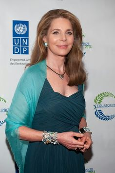 Her Majesty Queen Noor of Jordan attends the United Nations 2014 Equator Prize Gala at Avery Fisher Hall, Lincoln Center on 22.09.2014 in New York City.