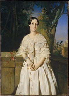Comtesse de La Tour-Maubourg (Marie-Louise-Charlotte-Gabrielle Thomas de Pange, 1816–1850) by Théodore Chassériau. 1841