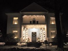 All-White Decor - Stunning Outdoor Christmas Displays on HGTV