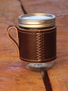Mason jar to mug - love it!